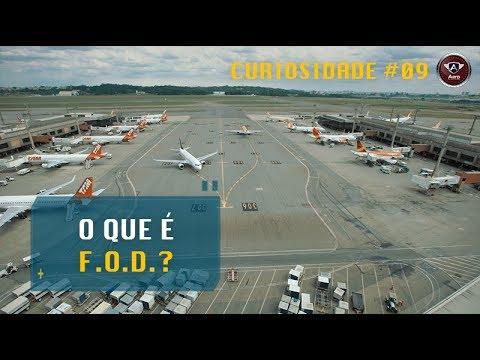 FOD é um PERIGO real para as Aeronaves nos Aeroportos