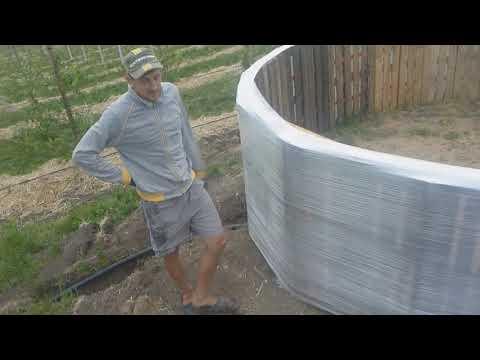 Бассейн (емкость для воды) на 12 кубов за 100 долларов. Часть 2