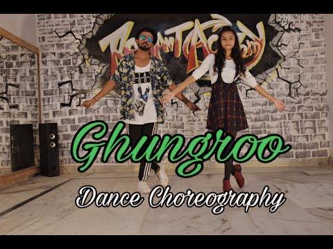 ghungroo-|-dance-choreography-|-vivek-|-war-|-hrithik-roshan-|-arijit-singh-|-radiant-academy