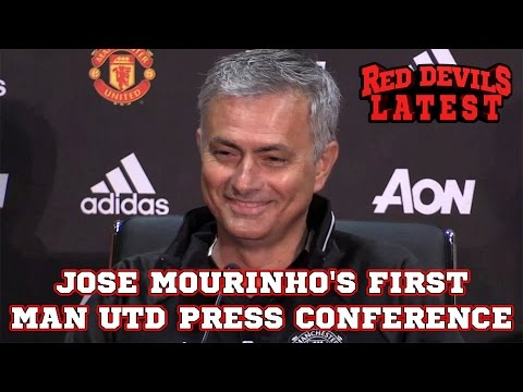 Jose Mourinho's First Manchester United Press Conference As Manager In Full