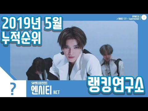 [랭킹연구소] 2019년 5월 보이그룹 누적순위 (남자아이돌 랭킹) | K-POP IDOL Boy Group Chart (May Brand Total)