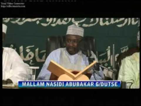 Tafsirin Al-Qurani mai girma na Sheikh M. Nasidi Abubakar G/dutse Kano Nigeria