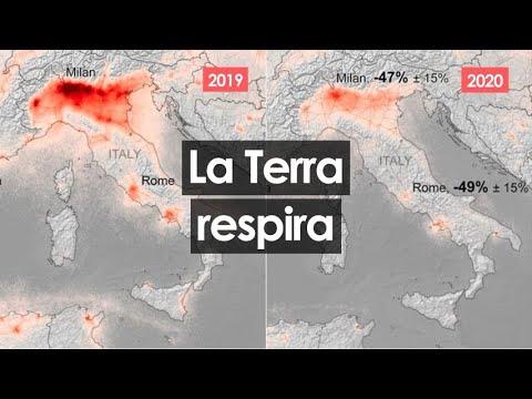 Il mondo si ferma per il Coronavirus, la natura respira: l'inquinamento atmosferico crolla del 50%