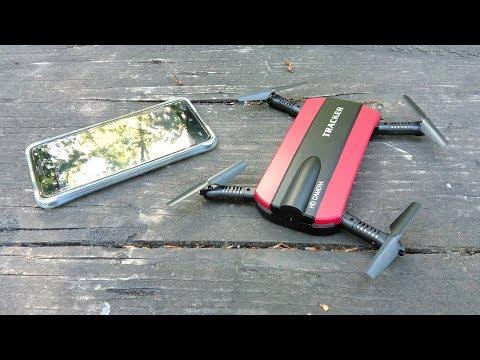 JXD 523 Tracker - Faltbare Selfie Drohne mit WiFi FPV von Lightake.com // Testbericht & Testflug