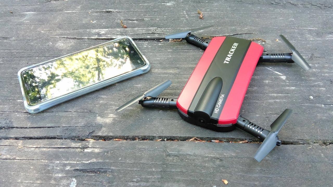JXD 523 Tracker Foldable Mini Rc Selfie Drone with Wifi FPV