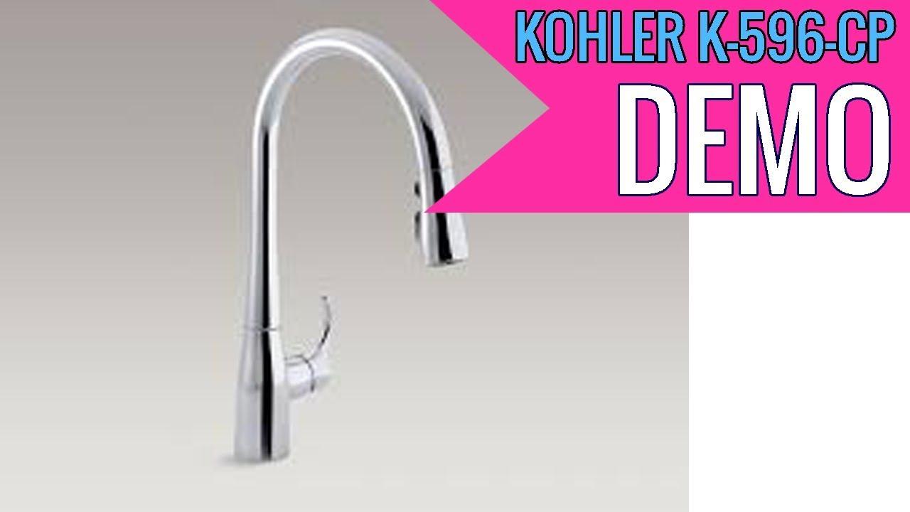 Kohler K 596 Cp Simplice High Arch