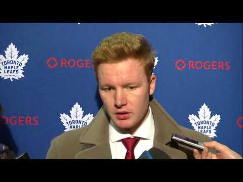 Maple Leafs Post-Game: Frederik Andersen - November 18, 2017