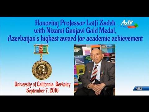 Azerbaijani professor of UC, Berkeley Lotfi Zadeh honored with Gold Medal of Azerbaijan