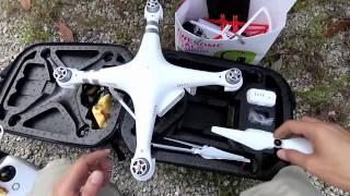 Enjoy my fly with DJI Phantom 3 Advanced