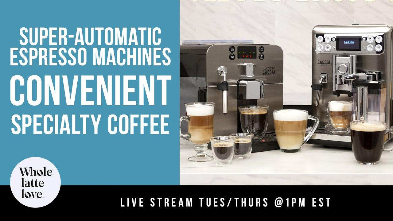 Super Automatic Espresso Machines And