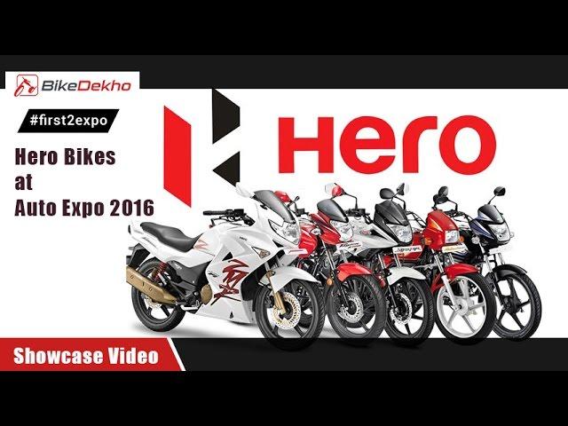 #first2expo : Hero Moto Corp @ Expo | Showcase Video |  BikeDekho@AutoExpo2016