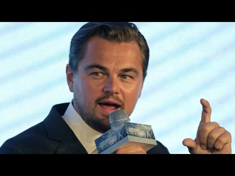 Di Caprio's hypocrisy: Eco-activist jets to France to fundraise for climate change