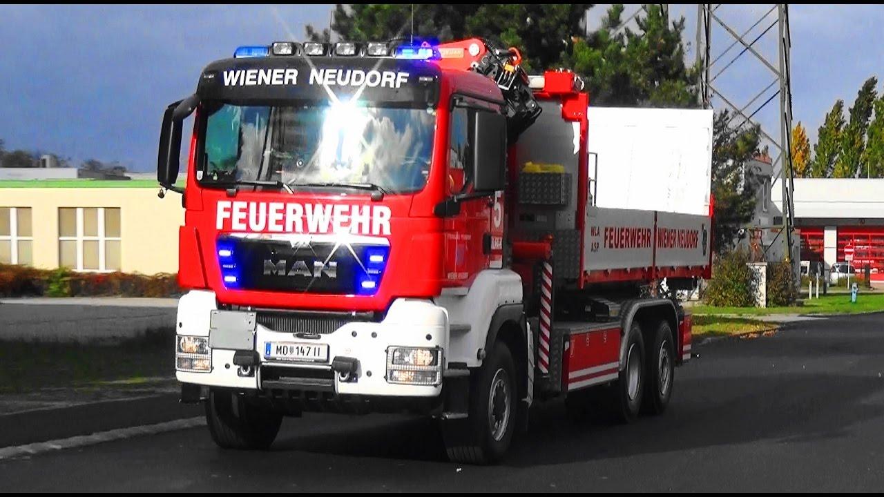 WLFA-K Feuerwehr Wiener Neudorf - YouTube