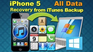 iPhone 5 Data Recovery: Recover lost photo,contacts&other data from iPhone 5 by iPhone Data Recovery
