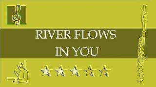 Flute Notes Tutorial - River flows in you - Yiruma (Sheet Music)