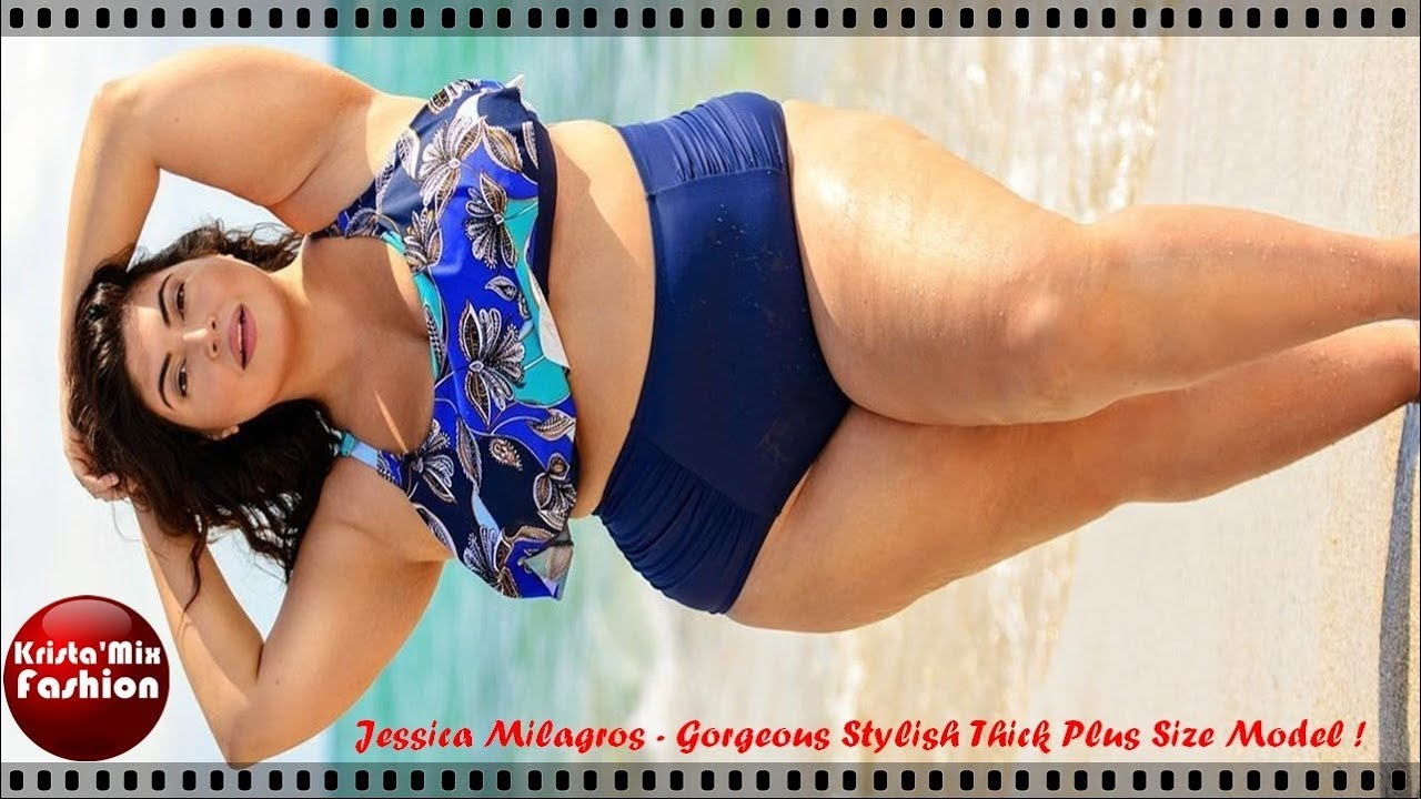 cf1ad11080d51 Jessica Milagros - Gorgeous Stylish Thick Plus Size Model#77 - YouTube