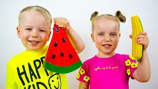 Gaby and Alex - Collection of New Educational Videos for Toddlers