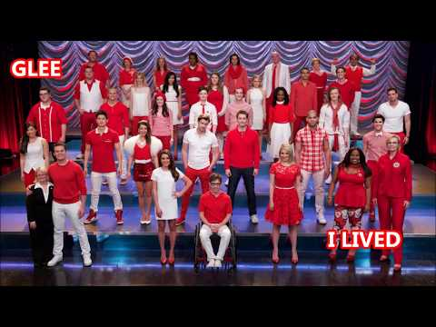 Glee-I Lived (Lyrics/Letra)