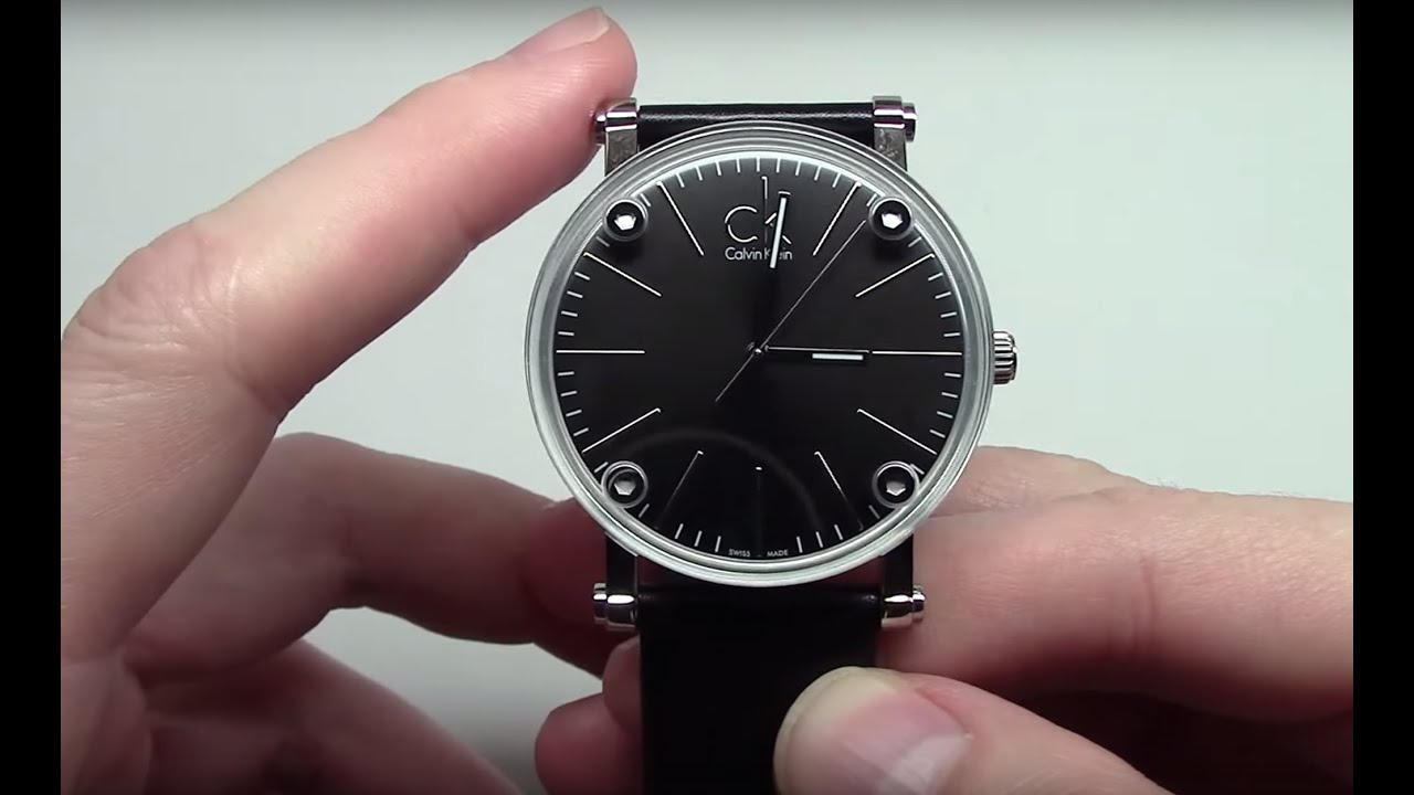 Calvin Klein Cogent Men's Watch Model: K3B2T1C1 - YouTube