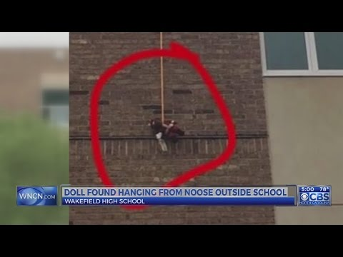 Doll found hanging by noose at Wakefield High School