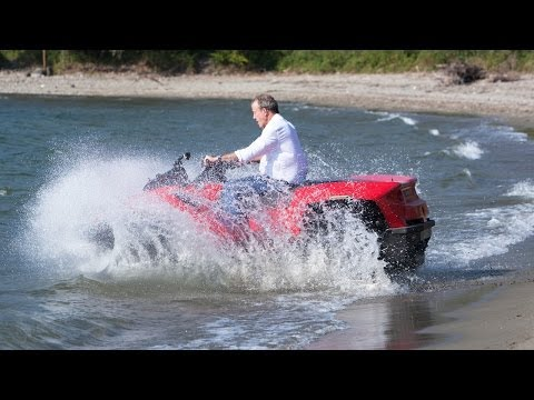 TOP GEAR Inside Look: Jeremy Clarkson's QuadSki in Lake Como - BBC AMERICA