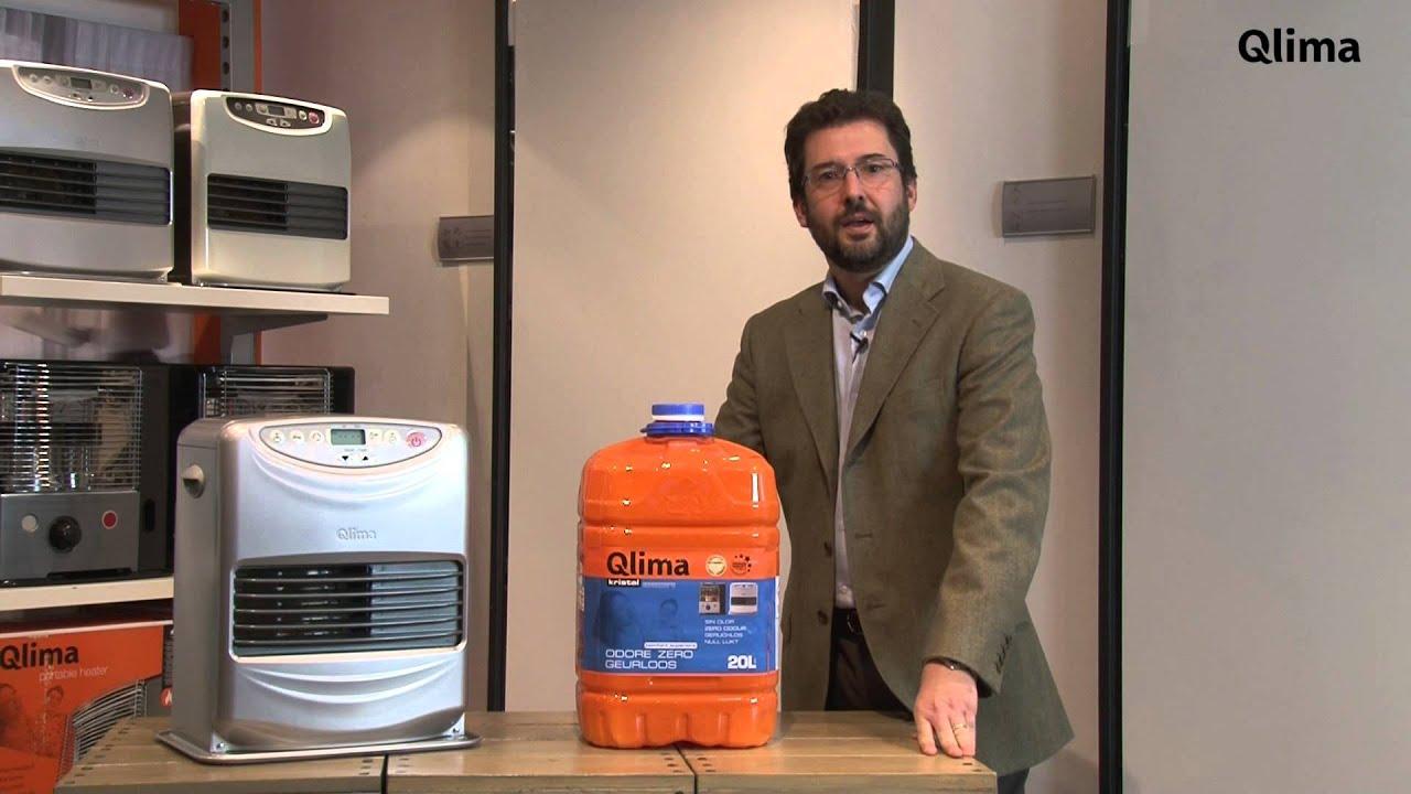Video stufe a combustibile liquido qlima youtube for Combustibile per stufe