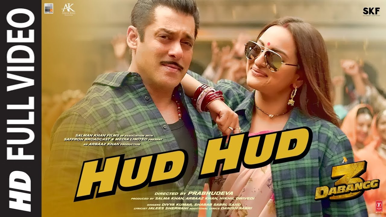 Download Hud Hud Full Video   Dabangg 3   Salman Khan   Sonakshi Sinha   Divya K,Shabab Sabri   Sajid Wajid