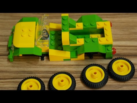 Lego Araba Yapma Animasyon | Fake Lego Car Building Stop Motion Animation Scooby Doo