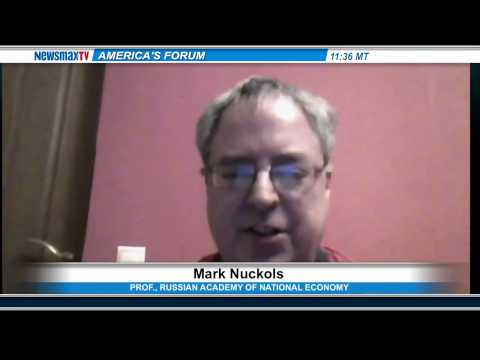 Mark Nuckols-  The Professor at the  Russian Academy of National Economy Part 1