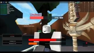 [ROBLOX: The Legendary Sword RPG] - Lets Play Ep 1 - Scaled Sword