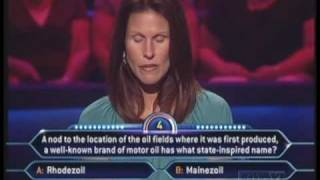 """""""I screwed up..."""" - Who Wants to be a Millionaire [Old Format]"""