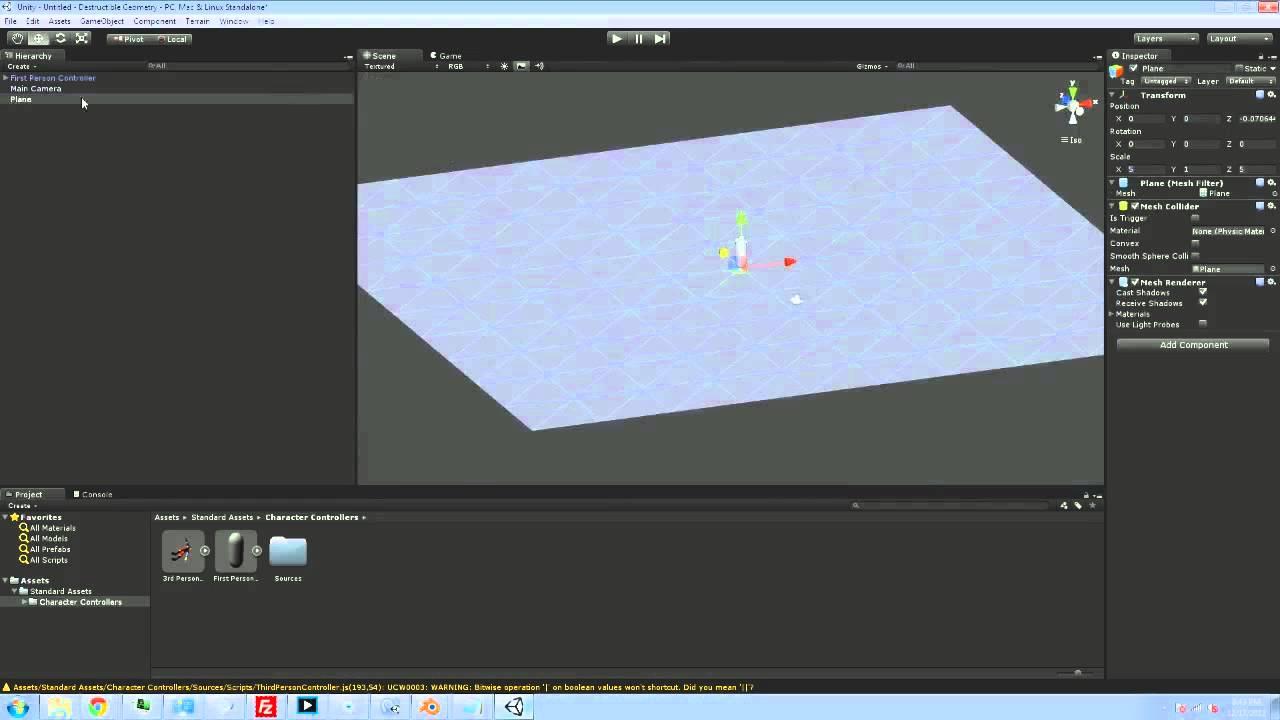 Quill18's Unity 3d & Blender Programming Tutorials