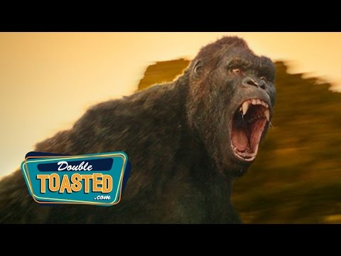 KONG SKULL ISLAND MOVIE TRAILER REACTION - Double Toasted Review