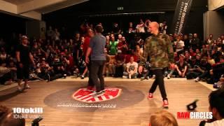 Raw Circles 2013 - Quarter Final - Kareem & Tata (USA) Vs Mayo & Sam (BEL)
