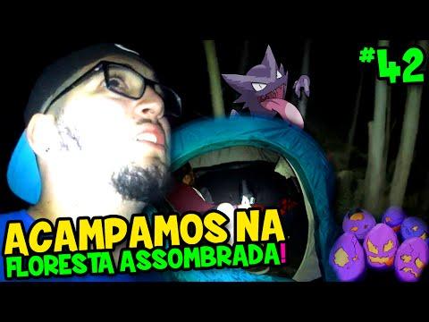 POKÉMON GO #42 - FOMOS ACAMPAR NA FLORESTA ASSOMBRADA E QUASE MORREMOS !