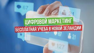 Цифровой маркетинг, бесплатная учеба в Новой Зеландии (Digital Marketing)