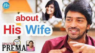 Allari Naresh About His Wife || Dialogue With Prema || Celebration Of Life