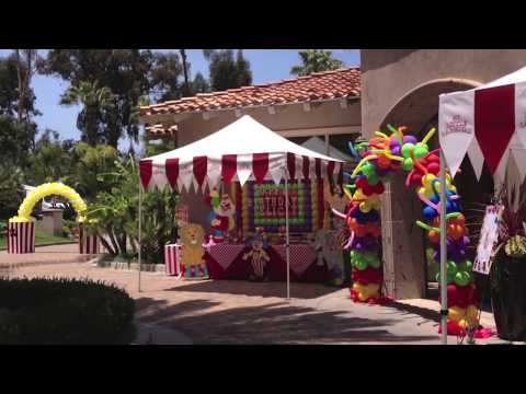 Carnival Birthday Party San Diego - Los Angeles