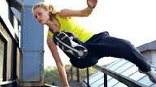 PARKOUR EXTREMO.The Best Girls Parkour 2016
