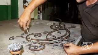 Красота, застывшая в металле(Компания MasterSV предлагает заглянуть в кузню в том самый момент, когда происходит таинственный процесс превр..., 2014-08-16T20:55:22.000Z)