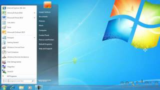 Microsoft Windows 7 - Basic User Guide - Lesson One - An Introduction