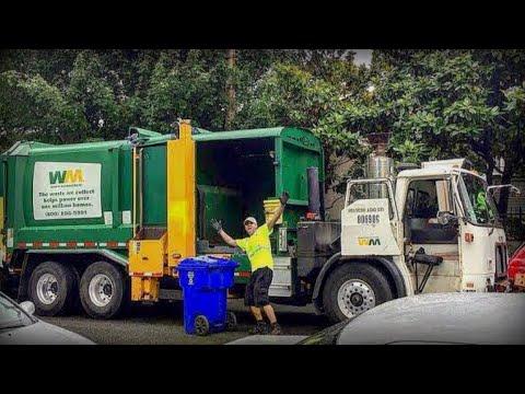 Garbage Trucks Galore - 60+ Garbage Trucks In Action!