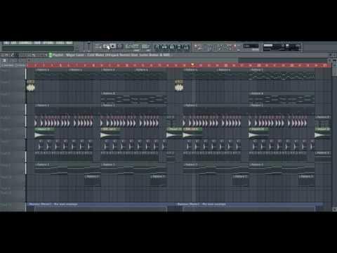 Major Lazer feat. Justin Bieber  - Cold Water ( Afrojack Remix) FLP FREE