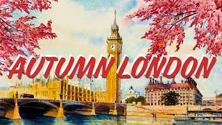 Relax Music Beats 💂 Autumn London - Lofi Chill Jazzy Beats to Study, Work and Relax