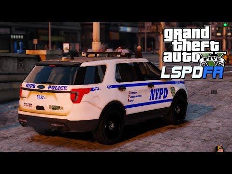 GTA V   LSPDFR   NYPD Partner Patrol FPIU