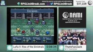 Lufia II: Rise of the Sinistrals (Ancient Cave) by ThatsFairZack (RPG Limit Break 2016 Part 30)