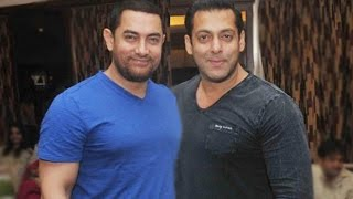 Aamir Khan makes fun of Salman Khan   Bollywood Stars
