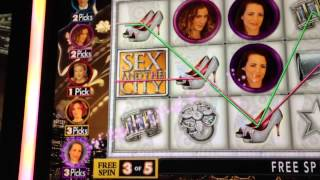 Sex and the City Slot Machine Free Spins Bonus