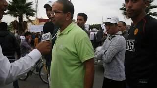 صور وقفة حزب الاستقلال بالمحمدية ضد الغلاء والزيادات في الاسعار