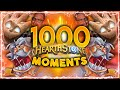 THE MOST AMAZING EPISODE OF ALL!!! | Hearthstone Daily Moments Ep.1000